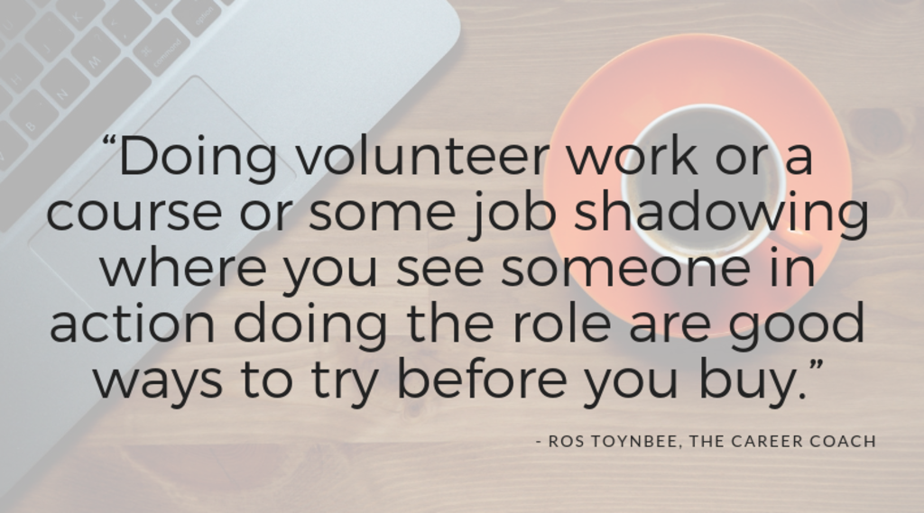 Ros Toynbee the career coach quote
