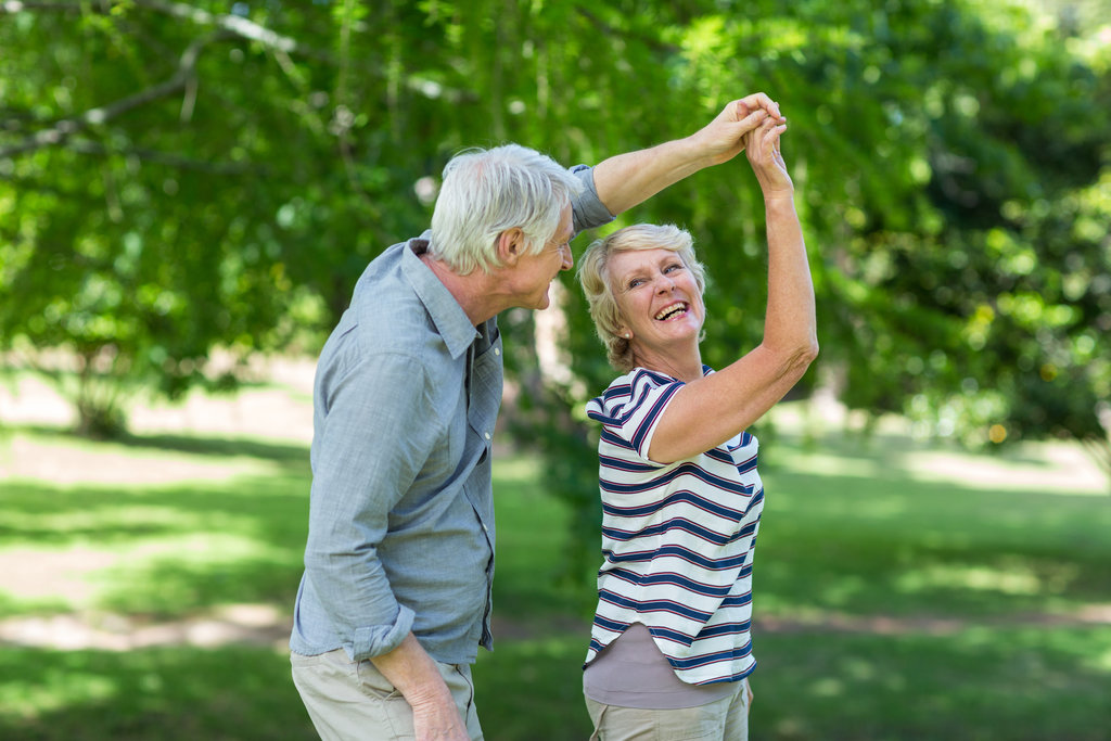 Dance sessions for older adults with mobility problems