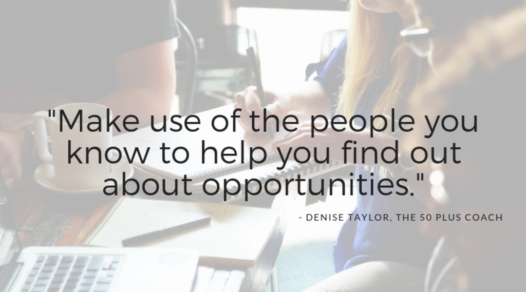 Denise Taylor The 50 Plus Coach quote