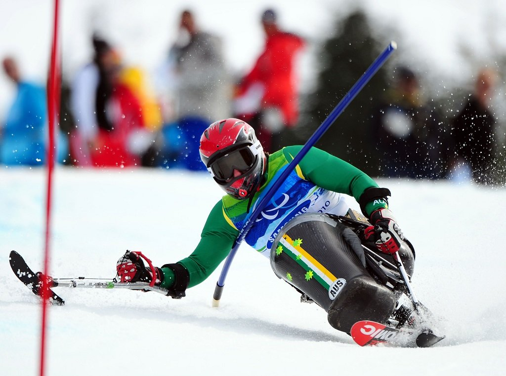 Winter paralympics
