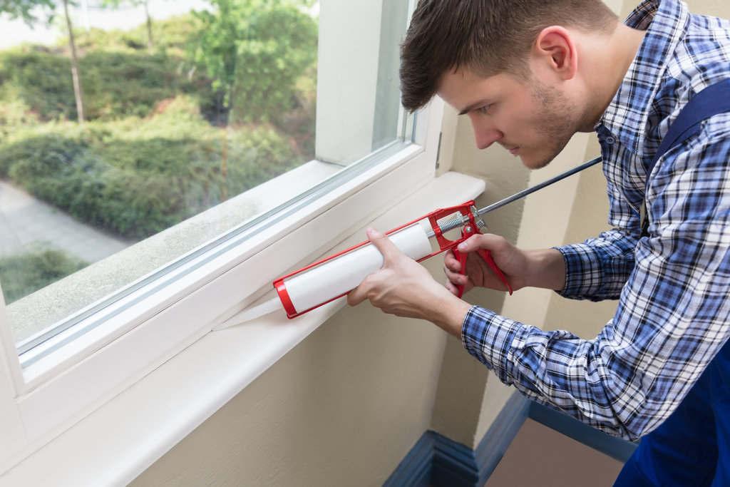 Seal your windows and doors
