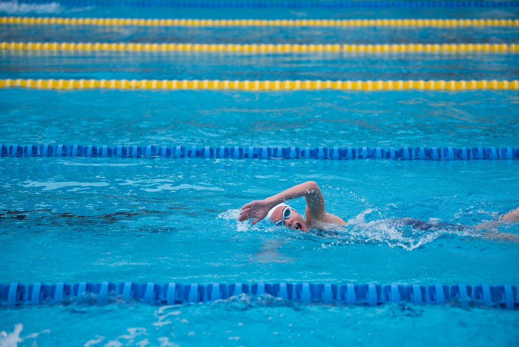 Swimming is good for your joints