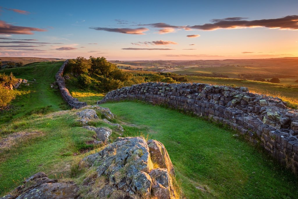 Hadrian's Wall UNESCO site