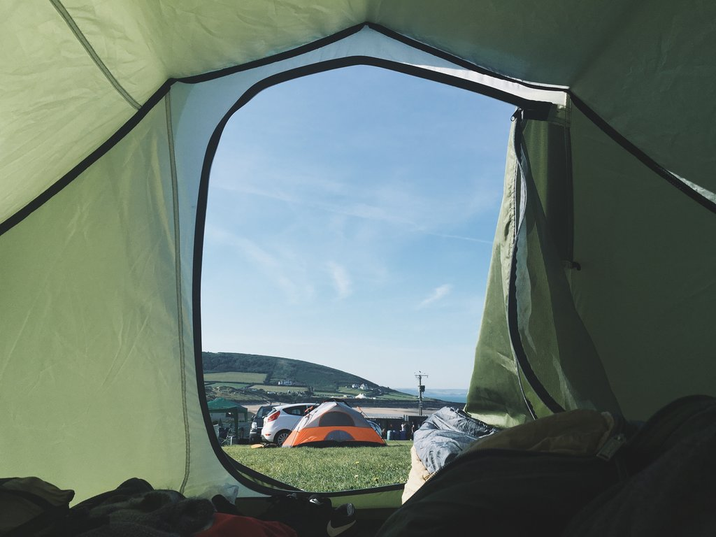 tent camping for older adults